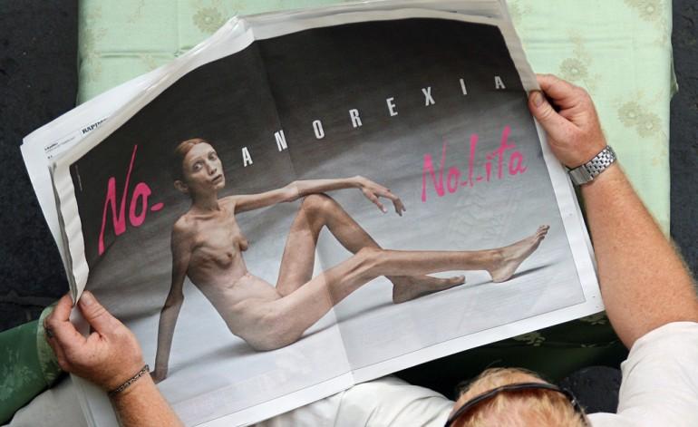 Una famosa iniziativa contro l'anoressia