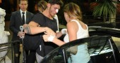 Incidente in moto per Belen Rodriguez e Stefano De Martino