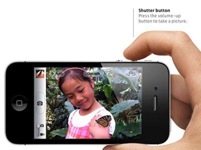 3 - Potete scattare una foto anche premendo il bottone del volume.