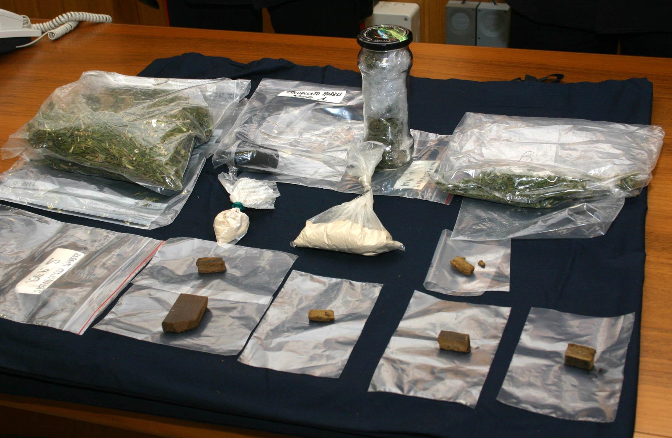 arresti carabinieri droga