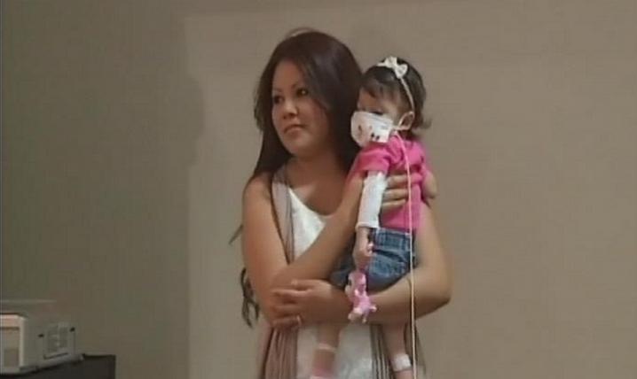 La mamma che dona il fegato a sua figlia