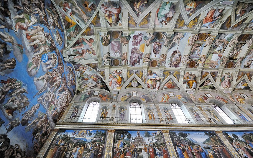 Significato Angeli E Demoni E La Cappella Sistina Di Fabri