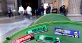 Occupy Pantheon - Protesta di studenti e precari contro la riforma Fornero