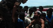 A Rohingya Muslim from Myanmar, who trie