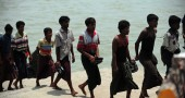 Rohingya Muslims from Myanmar, who tried