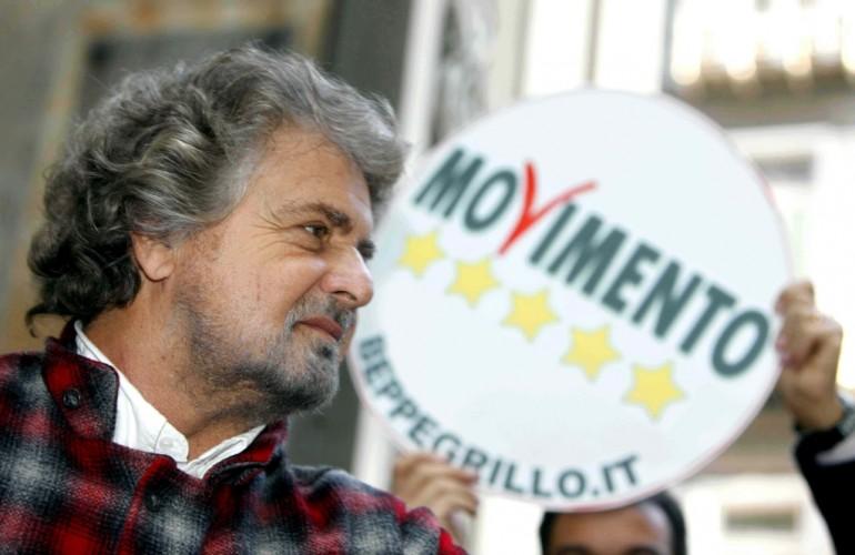 Beppe Grillo diventa un  caso in Israele