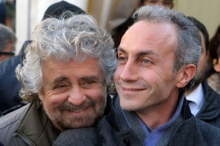 Marco Travaglio risponde  sulle non-domande a Beppe Grillo