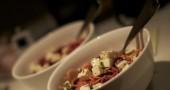 Pasta integrale: pomodorini e feta