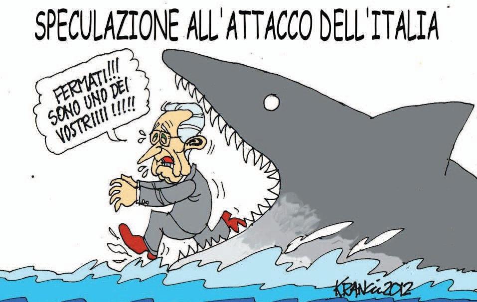 Tutte le vignette su Mario Monti