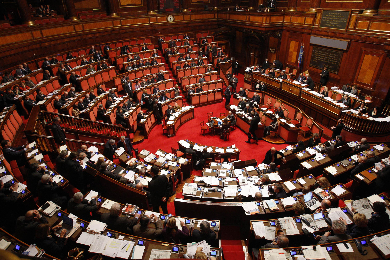 italian parlament congress chamber
