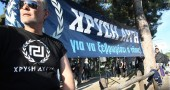 "A member of the ""Golden Dawn"" far-right"
