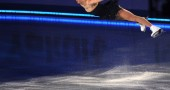 Carolina Kostner of Italy performs durin