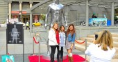 H&M Celebrates New David Beckham Ad Campaign With Statue Stunt - San Francisco