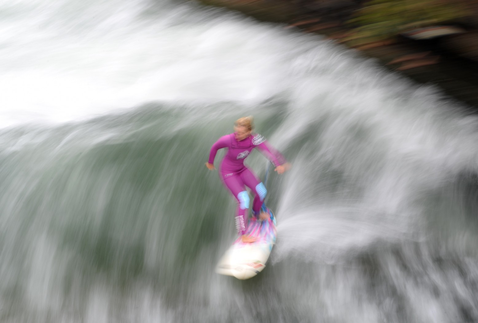 GERMANY-WEATHER-FEATURE-SURFER