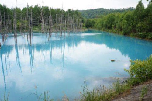 Il lago dal colore incredibile