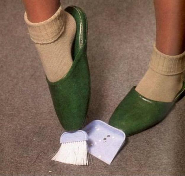 Passeggi per casa e sei sempre pronto a pulire: una meraviglia per gli psicopatici.