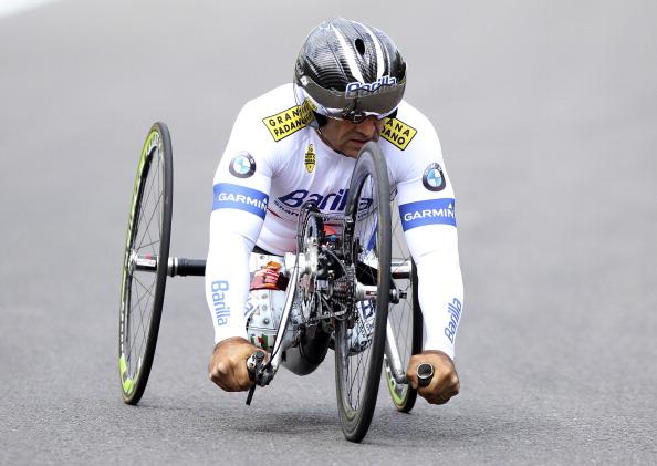 Alex Zanardi medaglia d'oro Paralimpiadi Rio 2016