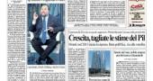 Il quotidiano romano il Messaggero ha i riflettori puntati sull'inchiesta sull'utilizzo dei fondi del Pdl Lazio. Le indagini coinvolgono anche altri partiti. In Regione è arrivata la Finanza. Un pm parla di soldi trasferiti senza controllo.