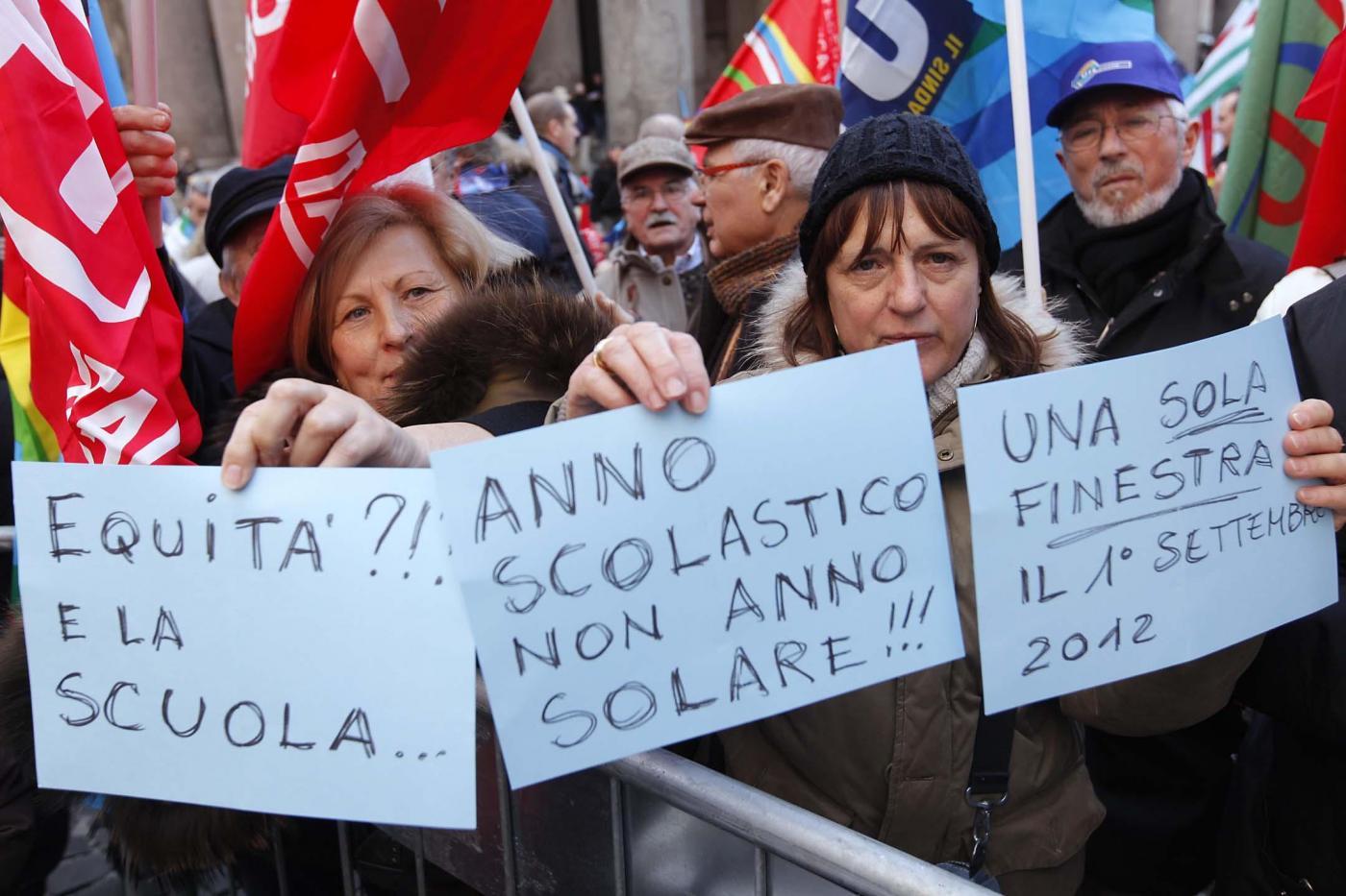Del pantheon iniziativa cgil cisl uil su pensioni - Finestra mobile pensione ...
