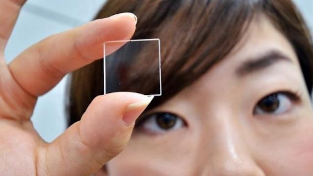Il pezzetto di vetro che conserva i tuoi dati per l'eternità
