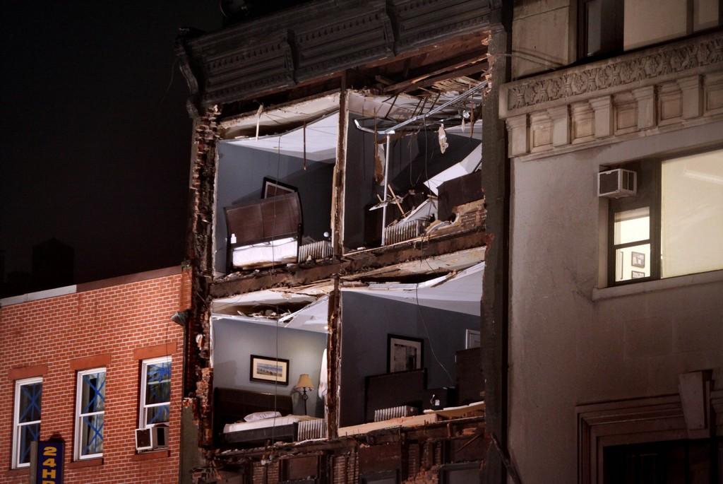 URAGANO SANDY: LE FOTO DELLA DISTRUZIONE