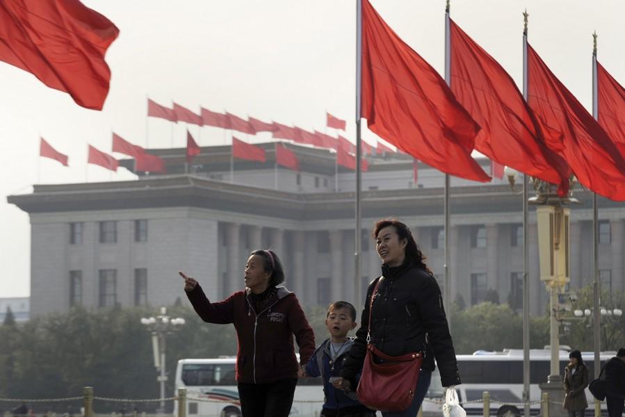 Il congresso farsa del Partito Comunista Cinese