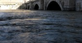 ITALY-FLOOD-ROME-TIBER RIVER