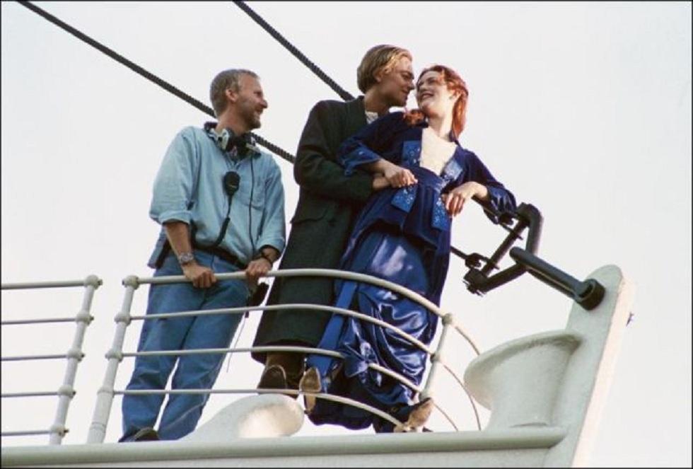 Vieni anche tu nel dietro le quinte di Titanic ... Kate Winslet Titanic