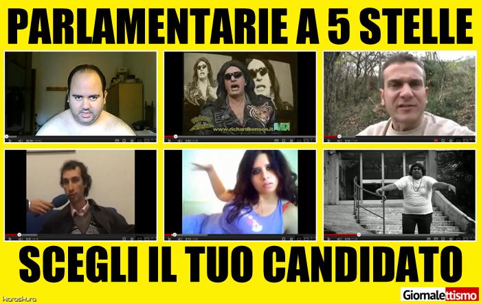 I risultati delle Parlamentarie di Beppe Grillo