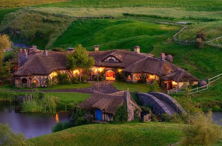 Il villaggio dello Hobbit esiste davvero
