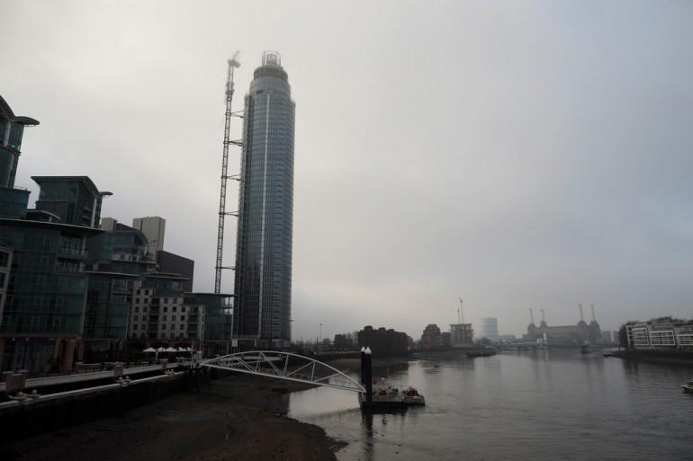 ELICOTTERO LONDRA: LE FOTO DELLO SCHIANTO