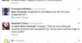 i commenti di twitter al porno di sara tommasi