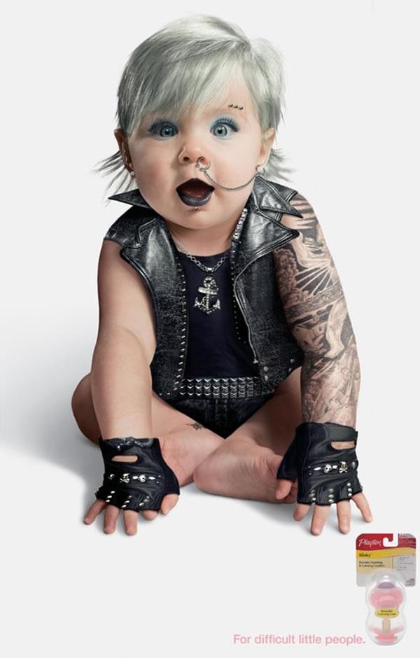I bambini tatuati che non vorresti mai incontrare di notte ...