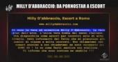 Le Iene-Milly D'Abbraccio-da pornostar-escort