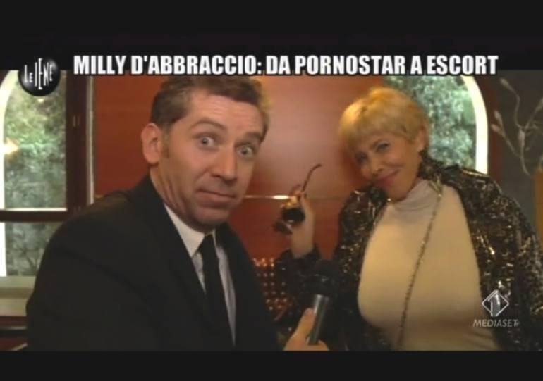 Milly D'Abbraccio alle Iene racconta la vita da escort