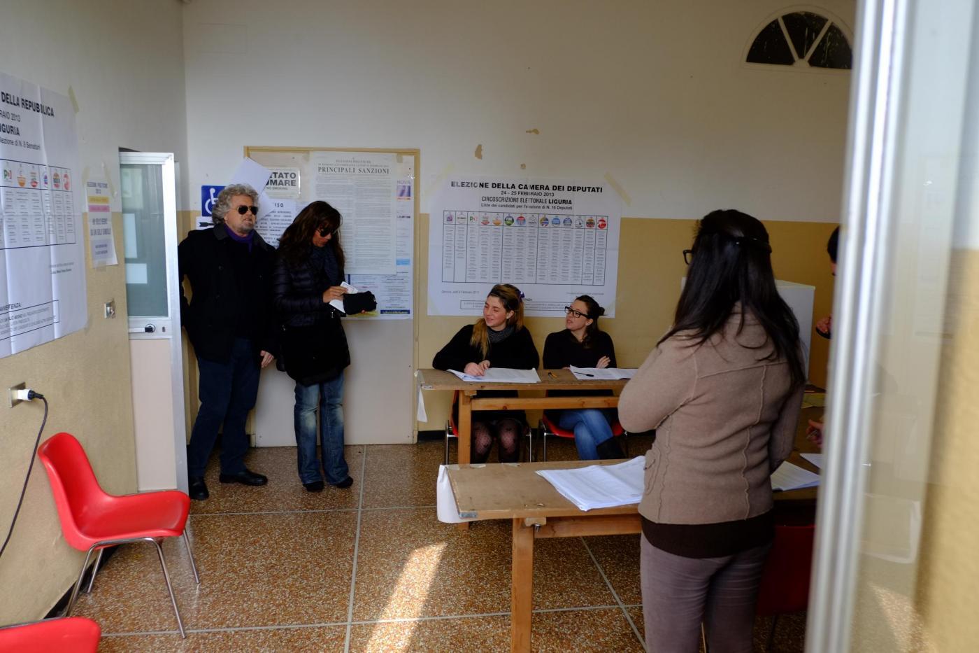 Elezioni politiche 2013, Bebbe Grillo al voto