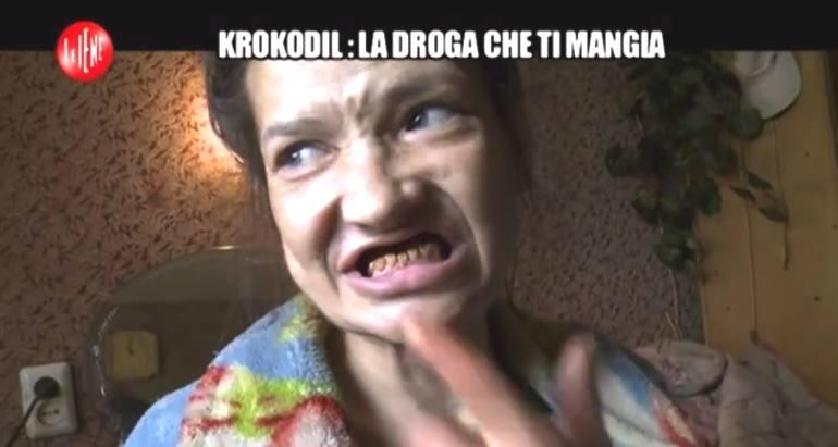 Le iene e la krokodil la droga che ti mangia vivo - Sali da bagno droga effetti ...