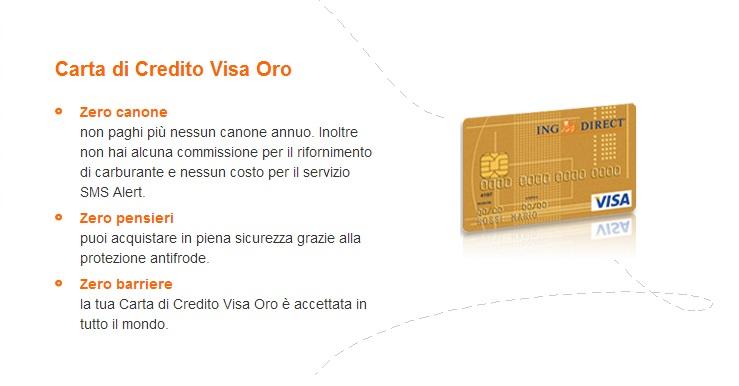 carta di credito ing direct
