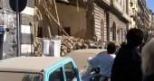 palazzo crollato napoli