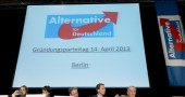 """Alternative fuer Deutschland"" New Political Party Launch"