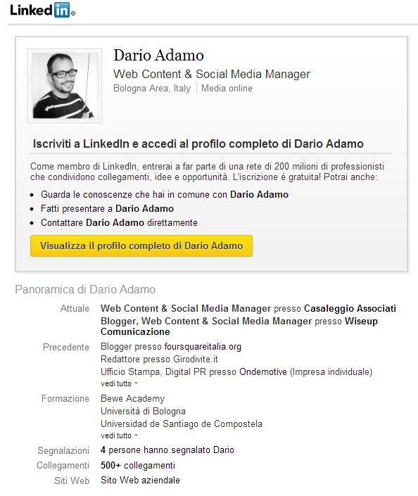 DARIO ADAMO MOVIMENTO 5 STELLE