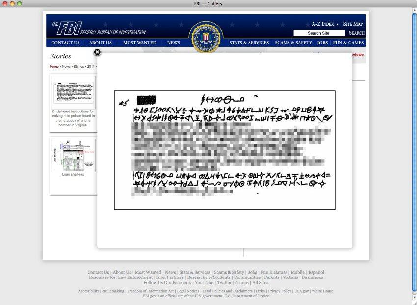 """""""L'FBI svela le istruzioni per ottenere la ricina"""""""