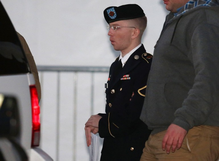 Motion Hearing Held In Bradley Manning Military Trial