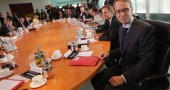 Jens Weidmann Attends Cabinet Meeting