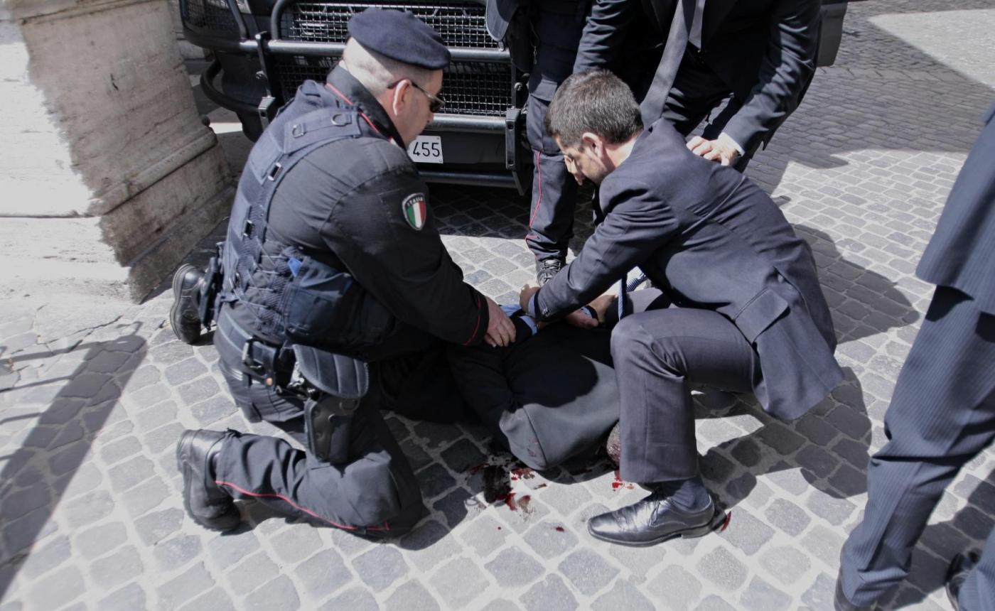 Luigi Preiti: l'uomo della sparatoria a Palazzo Chigi