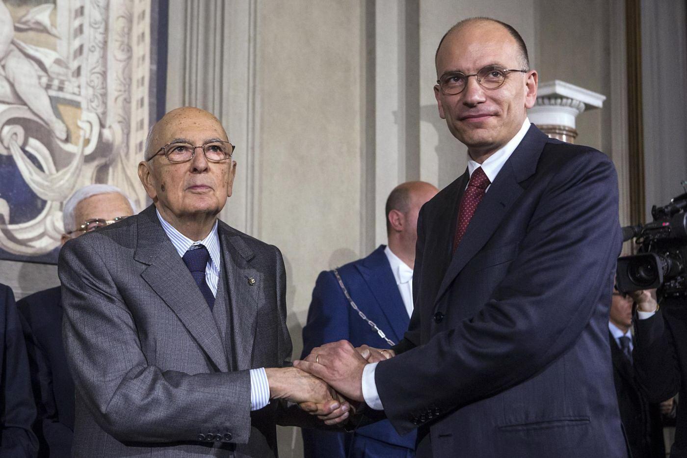 Il presidente del consiglio incaricato enrico letta for Sito governo italiano