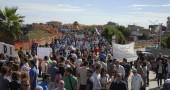 Manifestazione a Tiritì