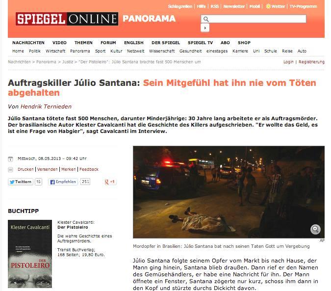 JULIO SANTANA-KILLER-500 OMICIDI-