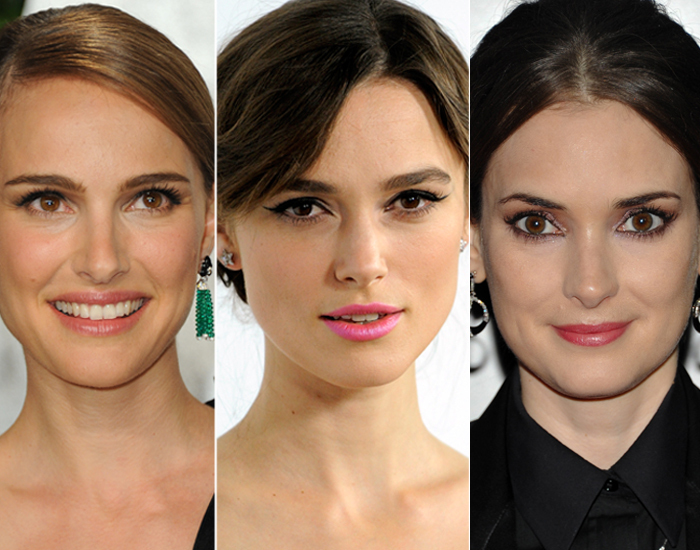 gt gallery for gt winona ryder and keira knightley and natalie portman