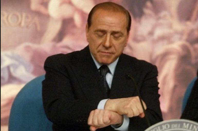 Berlusconi Manette